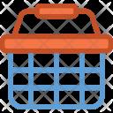 Wishlist Shopping Bucket Icon