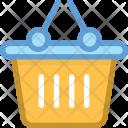 Wishlist Bucket Basket Icon