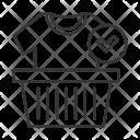 Wishlist Bucket Tshirt Icon