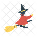Witch Scary Mop Icon
