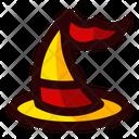 Halloween Sign Celebration Icon