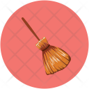 Witch Broom Magic Icon