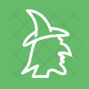 Witch Hat Halloween Icon