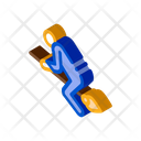 Witch Broomstick Wizard Icon
