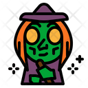 Witch Wizard Magic Icon