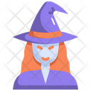Witch Halloween Horror Icon