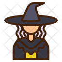 Witch Avatar Woman Icon