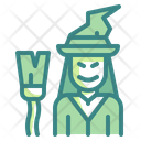 Witch Spooky Scary Icon