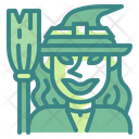 Witch Halloween Witchcraft Icon