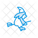 Witch Ghost Halloween Icon
