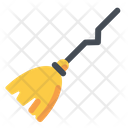 Witch Broom Stick Icon