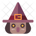 Witch Avatar Face Icon