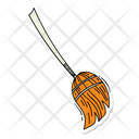Witch Broom Broom Broomstick Icon