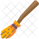 Witch Broom Broomstick Magic Broom Icon