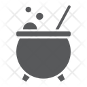 Witch Cauldron Magic Icon