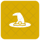 Witch Halloween Hat Icon