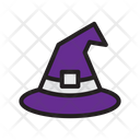 Halloween Witch Hat Scary Icon