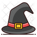 Witch Hat Halloween Hat Witch Headgear Icon