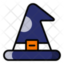 Witch Hat Halloween Spooky Icon