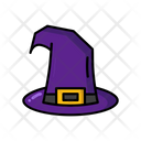 Witch Hat Halloween Witch Icon