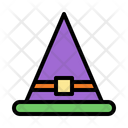 Witch Hat Magician Wizard Icon