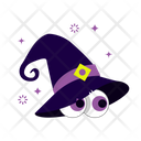 Peeping Hat Scary Hat Hat Icon