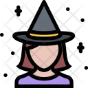 Witch Myth Legend Icon