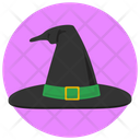 Witches Hat Halloween Icon