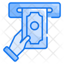 Withdraw Finance Service Icon