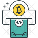 Dollar Withdraw Bitcoin Cash Icon