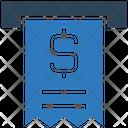 Withdraw Cash Dollar Money Icon