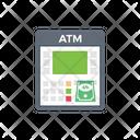 Atm Bank Cash Icon