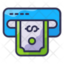Bank Finance Cash Credit Icon