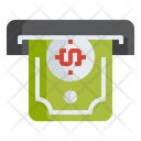 Withdraw Withdrawal Atm Icon