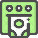 Atm Money Machine Icon