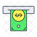 Withdrawal Atm Cash Icon