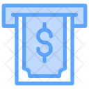 Withdrawal Dollar Icon
