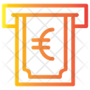 Withdrawal Euro Icon