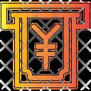 Withdrawal Yen Icon