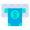 Cash Withdrawal Atm Machine Icon