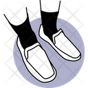 Without Lace Shoes Shoes Footwear Icon