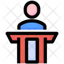 Justice Testimony Witness Icon