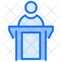 Witness Law Justice Icon