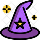 Wizard Magic Hat Hat Icon