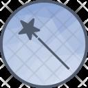 Wizard Magic Stick Icon