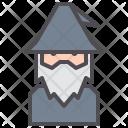 Wizard Magic Sorcerer Icon