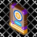Wizard Book Magic Icon
