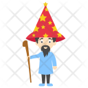 Wizard Cartoon Icon