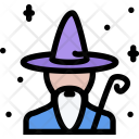 Wizard Myth Legend Icon