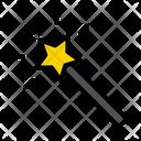 Wizard Wand Stick Icon